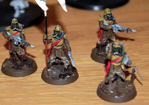 death korps of krieg infantry command squad